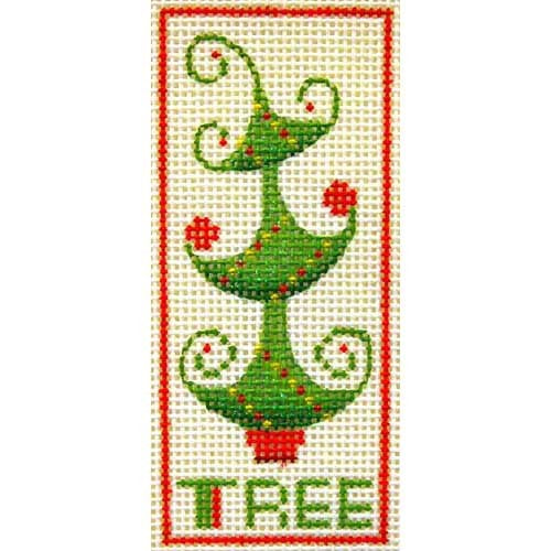 BB 2545 - Curly Tree Ornament