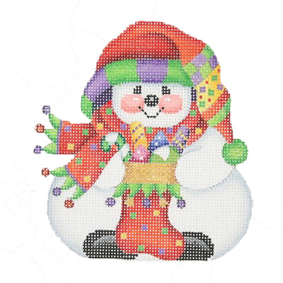 BB 0028 - Chubby Sock Hat Snowman