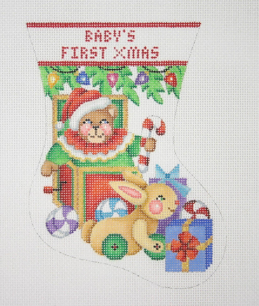 BB 0308 - Baby's First Christmas Mini Stocking - Toys