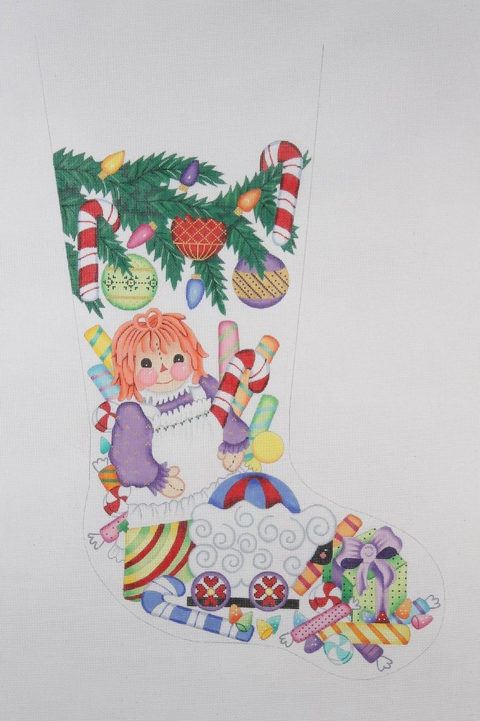 BB 0251 - Christmas Stocking - Doll & Other Toys