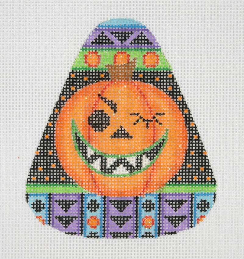 BB 0594 - Candy Corn Shaped Pumpkin