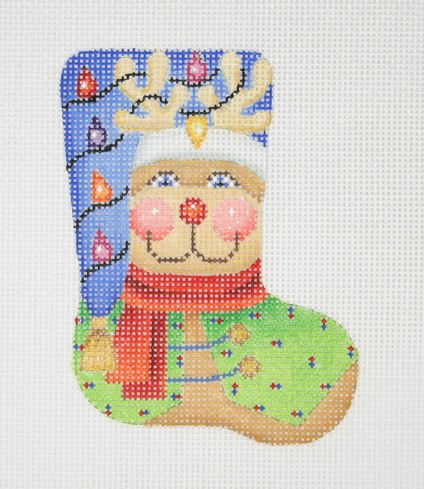 BB 0807 - Mini Stocking Shape - Reindeer