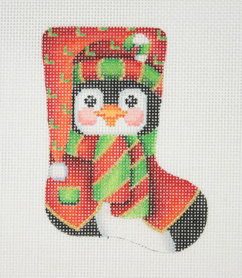 BB 0809 - Mini Stocking Shape - Penguin