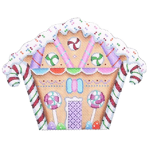 BB 0121 - Gingerbread House - Candy Canes