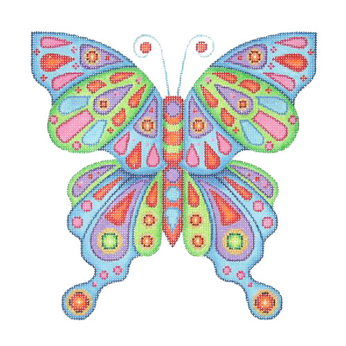 BB 0683 - Butterfly - Bright Pattern