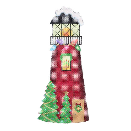 BB 0784 - Christmas by the Sea - Red Lighthouse