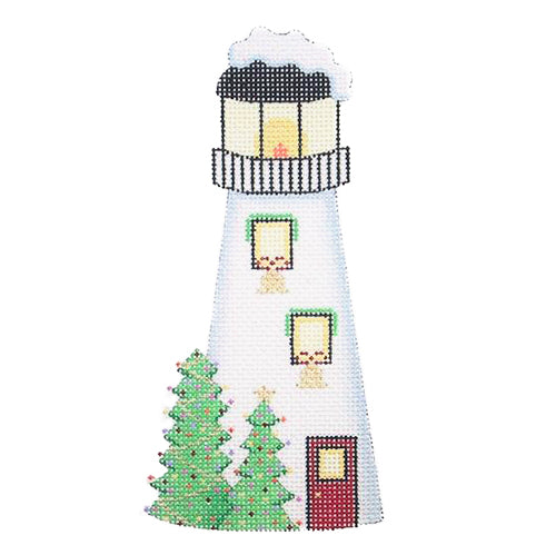 BB 0787 - Christmas by the Sea - White Lighthouse