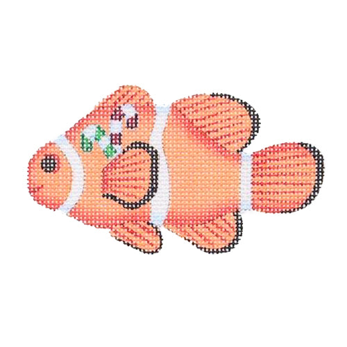 BB 0794 - Christmas by the Sea - Clown Fish with Candy Canes