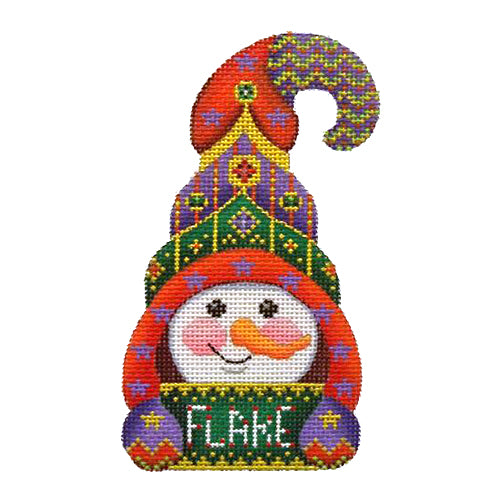 BB 1282 - Snowman Hook Hat - Flake
