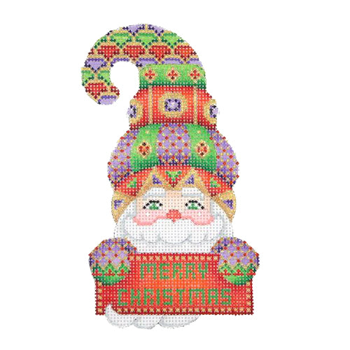 BB 1283 - Santa Hook Hat - Merry Christmas