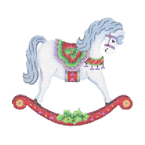 BB 1469 - Rocking Horse Ornament