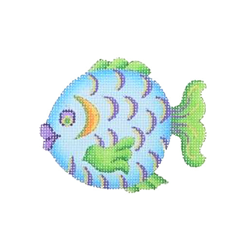 BB 1632 - By the Sea - Blue, Purple & Green Fish