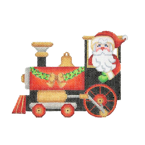 BB 1743 - Santa in a Train