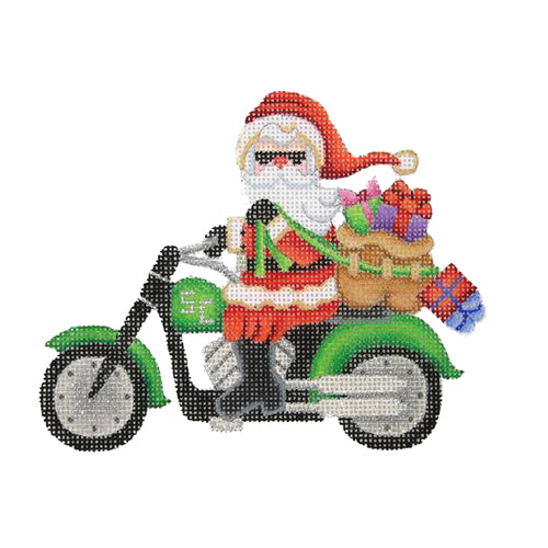 BB 1744 - Santa on a Motorcycle