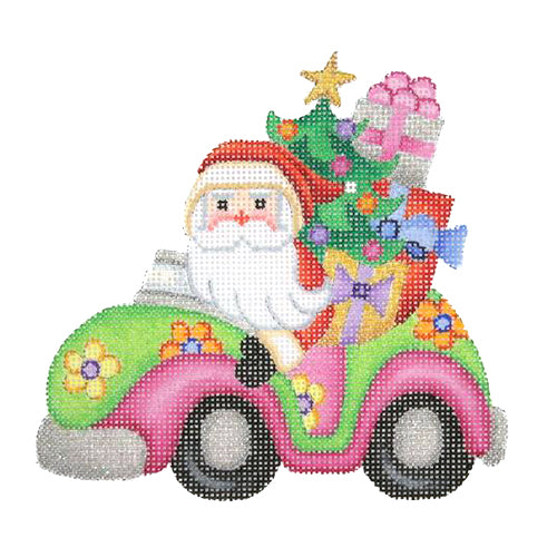 BB 1746 - Santa in a Volkswagen