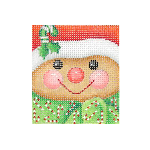 BB 1825 - Mini Gingerbread Man Face