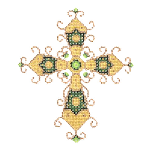 BB 1849 - Cross - Green & Gold