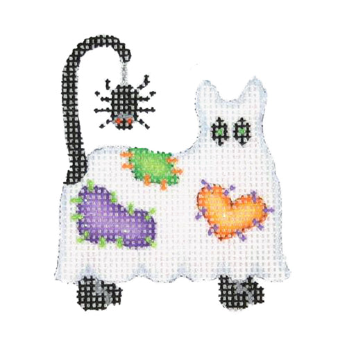 BB 1906 - Mini Ghost Cat - Patches