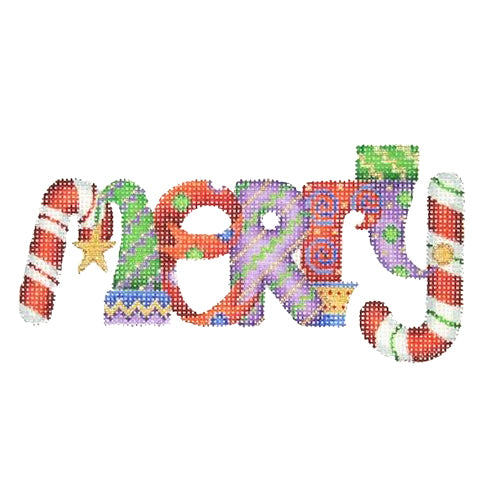 BB 2582 - Christmas Words - MERRY