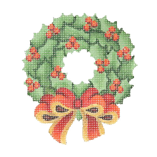 BB 2605 - Wreath with Red Bow