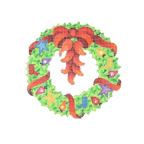 BB 2628 - Wreath with Chili Peppers