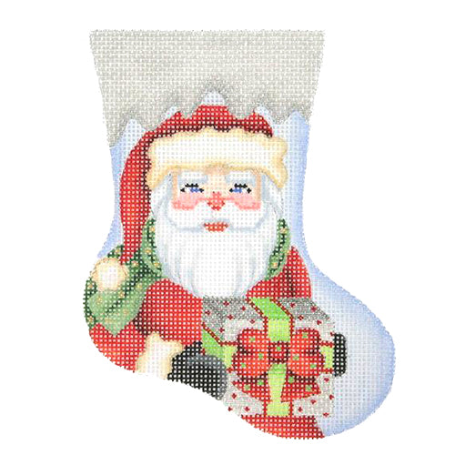 BB 2841 - Mini Stocking - Santa with Package