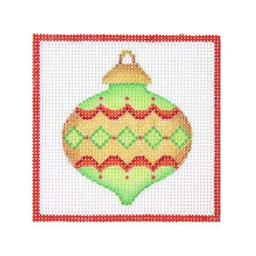BB 3189 - Square Ornament - Bauble