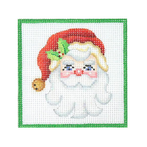 BB 3190 - Square Ornament - Santa Face