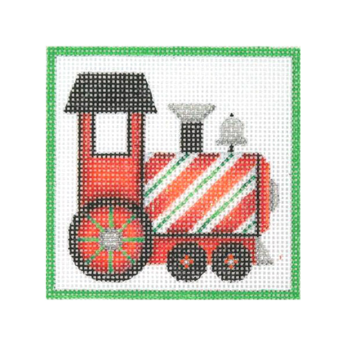 BB 3197 - Square Ornament - Train