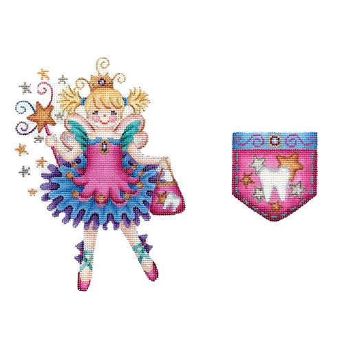 BB 6023 - Tooth Fairy Pillow - Princess