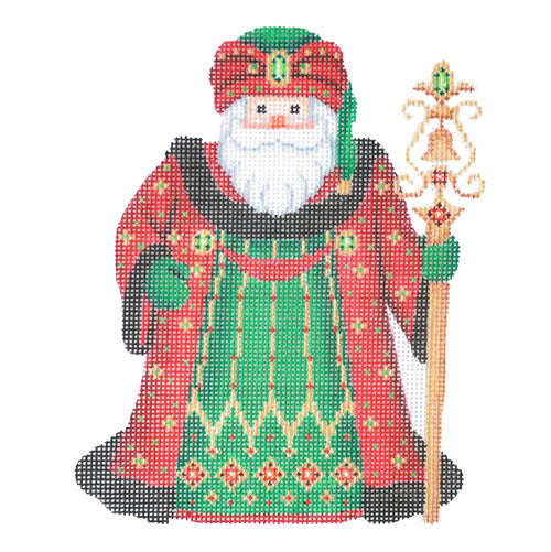 BB 6046 - Santa Claus - Red Robe & Turban