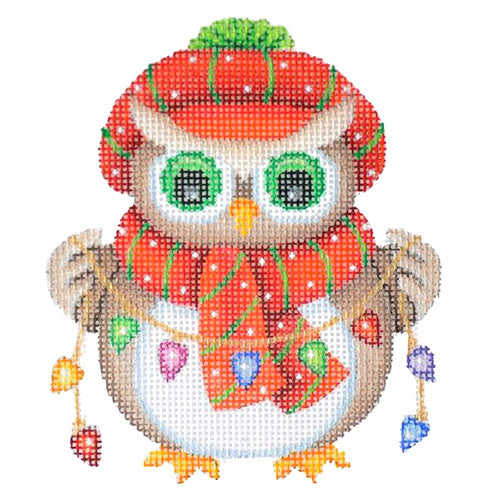 BB 6060 - Mini Christmas Owl - Lights