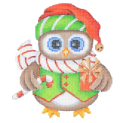 BB 6061 - Mini Christmas Owl - Present