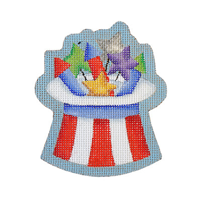 BB 6153 - Americana - Top Hat with Firecrackers