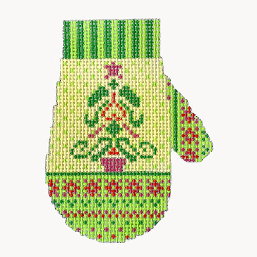 BB 6175 - Nordic Mitten - Christmas Tree