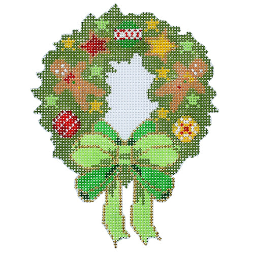 BB 6178 - Gingerbread Wreath