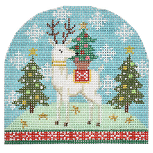 BB 6189 - Reindeer with Tree
