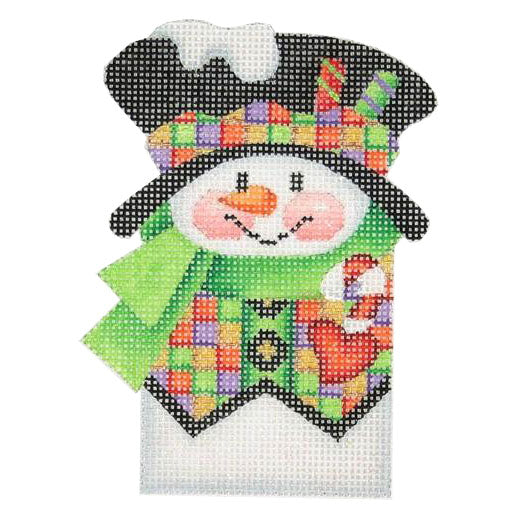 BB 0031 - Snowman Picket - Squares Vest