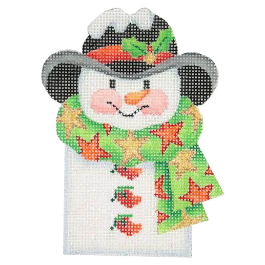 BB 0040 - Snowman Picket - Star Scarf