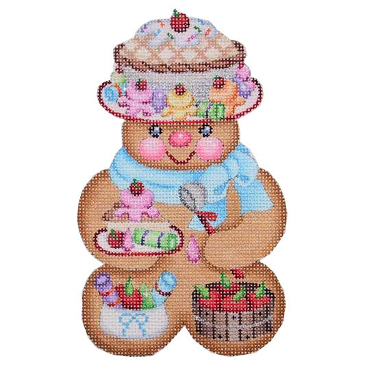BB 0076 - Gingerbread Girl Pie Hat