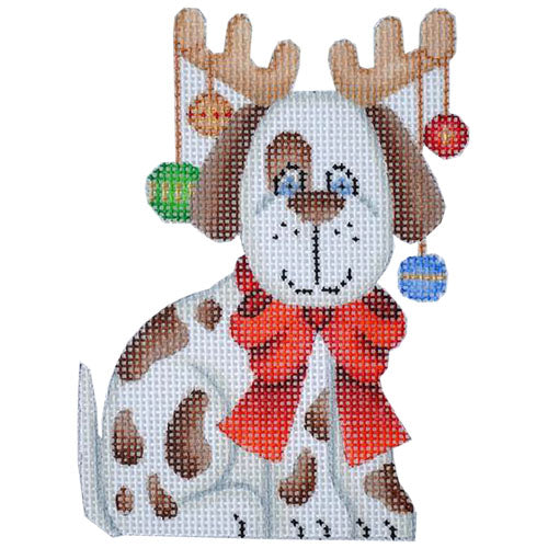 BB 0093 - Dog with Reindeer Antlers