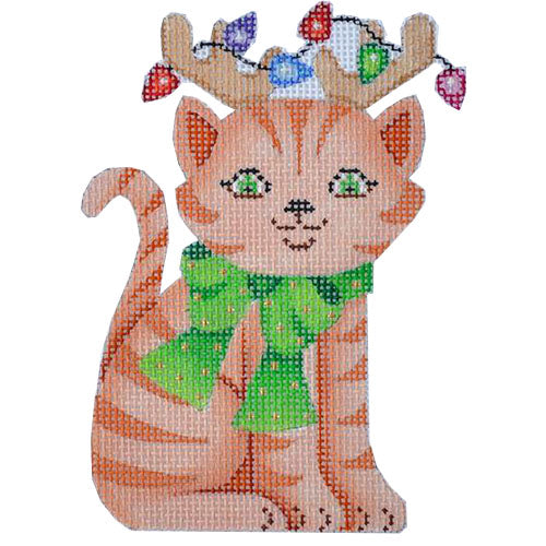 BB 0094 - Cat with Reindeer Antlers
