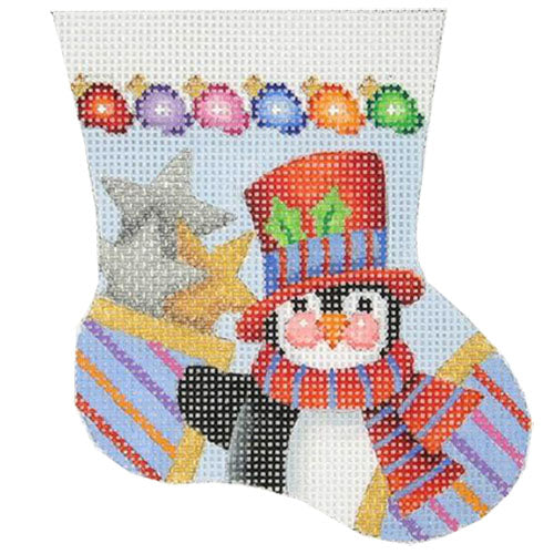 BB 0098 - Penguin Mini Stocking