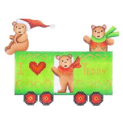 BB 2133 - Train Series - Box Car with Bears