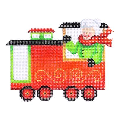 BB 2142 - Train Series - Caboose with Mrs. Claus