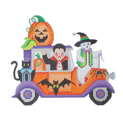 BB 6031 - Halloween Car - Dracula & Ghost