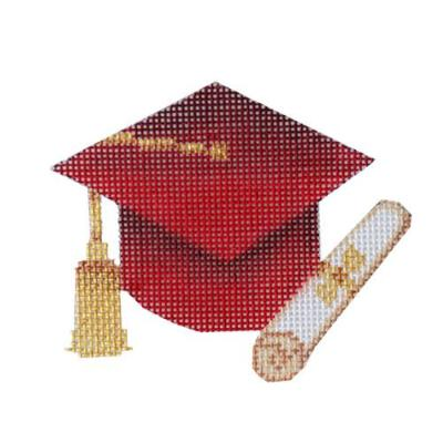 BB 6062-A - Graduation Cap - Red