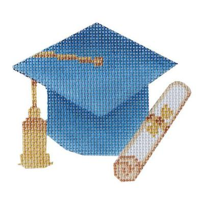 BB 6063-A - Graduation Cap - Light Blue