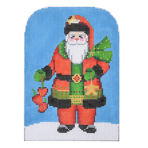 BB 3204 Santa Set #2 - Santa Holding Apples