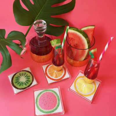 BB 6077 - Fruit Coaster - Watermelon